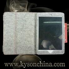 Felt case for mini ipad,Rechargeable battery case for ipad mini