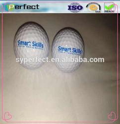 Custom logo funny flashing golf ball