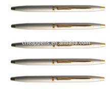 short metal gift pen