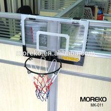 Mini Office Basketball Hoop,PC Fiberglass Basketball Backboard MK011