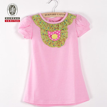 2011 new design fashion baby dress pure color baby girl party dress children frocks designs