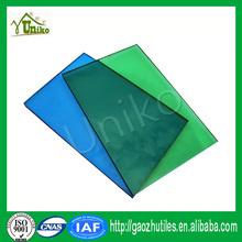 GE uv blocking solar anti-fog corrugated impact resistance shelter polycarbonate sheet
