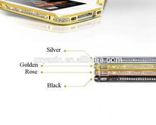Diamond metal bumper case for iphone 5,cheap mobile phone case