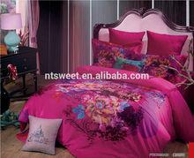 beautiful bed sheet set/ brushed bedding sheet/adults china manufacture wholesaler