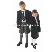 Custom Middle School Boys And Girls School Uniform Boys Blazers with Shirts