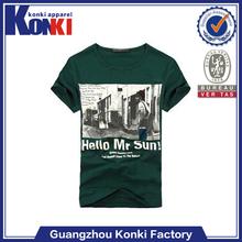 wholesale 2011 plain printing O-neck men tshirts