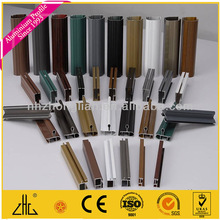 WOW!!!aluminum wardrobe hanging rail wooden tube/aluminum profile tube,Ghana profile rail,T slot /OEM supplier factory in China