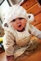Bebê chapéu preemie recém-nascido cordeiro ovinos farm animal chapéu do bebê chuveiro dom crochet marrom branco preemie bebê chapéu infantil foto prop