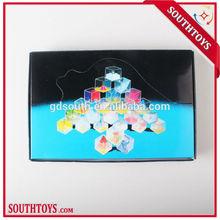 educational plastic maze game cube