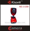 360 Degree Rotation USB Webcam Camera Chat Online Web Cam
