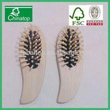 hotel and resort wooden hair massage brush