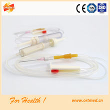 blood infusion set for chemical use
