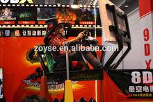 Hottest unique simulator moto racing game machine