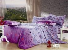 2014 new print quality Dubai cotton bed sheets