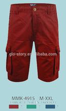 Glo-story wholesale mens booty cargo shorts