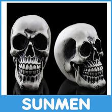 Different style resin halloween skull/halloween skulls party supplies