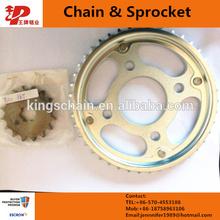 made in china motor chain sprocket set CG 125 TITAN
