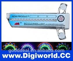 LED Color Wheel of Light Bike 32 LED 32-pattern double-sided