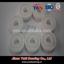 PTFE 683 693 603 623 633 plastic ring with ceramic balls bearings