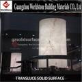 2014 vente chaude design à la mode d'éclairage décoratif translucide. colonnes