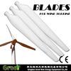 HOT ! 1.5KW 3.2m rotor diameter FRP wind turbine blades company wind power, low noise low start wind speed