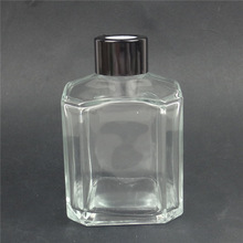 glass home perfume oil bottle with cap