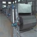 De aire caliente de secado de carbón briquetas neto cinturón secador con gran capacidad/industrial secador de aire caliente