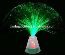LED 3D star fiber optic light