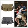 Hot Selling Men's Retro Best Messenger Bag Shoulder Strap School Bag Army Green Travel Bag