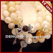 DIY natural gem stone bracelet jewellry