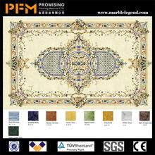 china precio de fábrica de piedra natural de cerámica del piso medallones