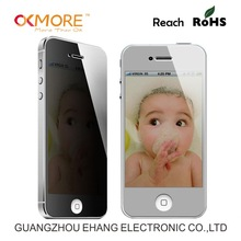 2014 new products 9H anti scratch privacy tempered glass screen protector for iphone5