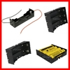 18650 battery holder with red and black lead wire
