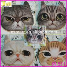Very Cute Hot New Cat Face Coin Purse Zipper Pouch Money Coin Card Wallet Purse Case Makeup Bag Small