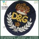 YCB-13010 Custom Military Rank Bullion Wire Patches
