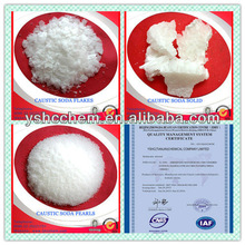 UN NO 1823 factory supplier NaOH Caustic soda flakes