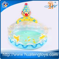 H147397 child indoor cartoon clown Inflatable swimming pool circular clown pool