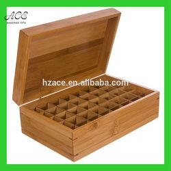 Bamboo essential oil box Custom bamboo box High quality bamboo box