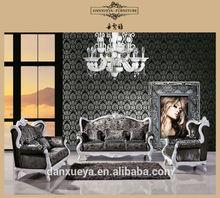 Wooden sofa set design lowest price sofa 837#