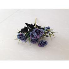 Pequeños adhesivos decorativos de la boda funeral similares se levantó de la flor