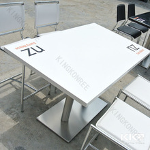 Artificial Marble Stone hotel table and chairs