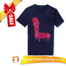 100% cotton plain sport t shirt High quality custom printed tshirts made in china
