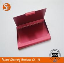 Elegant Simple Luxury High Quality fashion cow leather envelope namecard holder