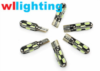 WLLIGHTING Factory Canbus T10 5730 12SMD with high bay led light for car