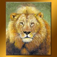 Newest design handmade animal painted canvas
