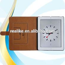 2014 New Trendy Flip for ipad mini bamboo case