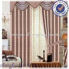 shining luxury jacquard blackout curtain fabric turkish jacquard fabric
