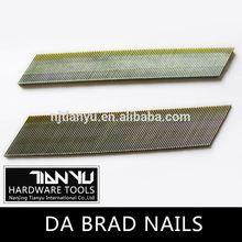 High quality Galvanized DA brad nails copper square boat nail