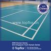 2014 New Prefabricated pvc vinyl badminton court