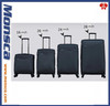expandable nylon water proof luggage / trolley luggage set min order 200 pieces